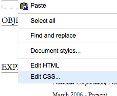 Style Your Google Docs with CSS