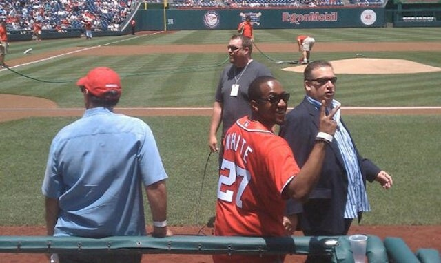 Steve Urkel Threw Out The First Pitch In Washington, D.C. Yesterday