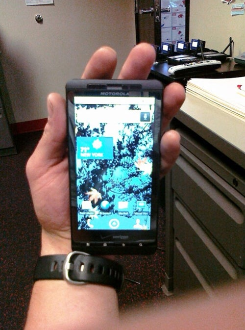 Motorola Droid Shadow Found In Gym