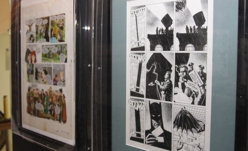 Superheroes And Other Comics Invade Britain's Most Famous Shop