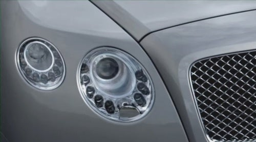 Bentley Continental GT Teasers