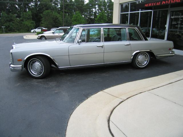 Nice Price Or Crack Pipe: The $105,000 Mercedes-Benz 600