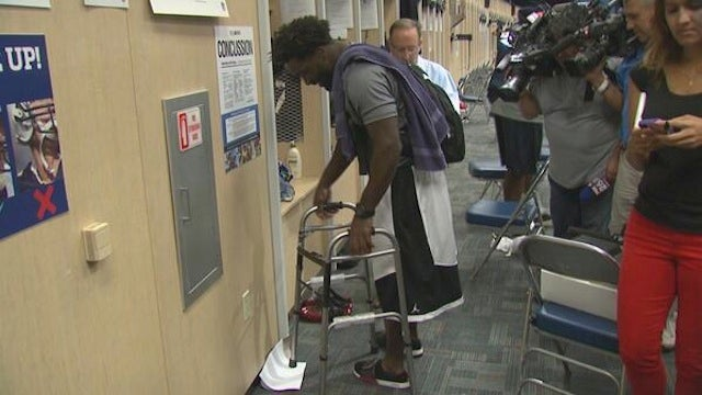 The Texans Got Old Man Ed Reed A Walker For His Birthday