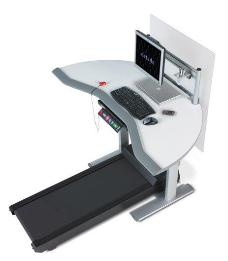 Treadmill Desk Promotes Hamster-itis