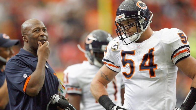 Brian Urlacher Is Getting Really Tired Of Chicago Fans Booing The Bears