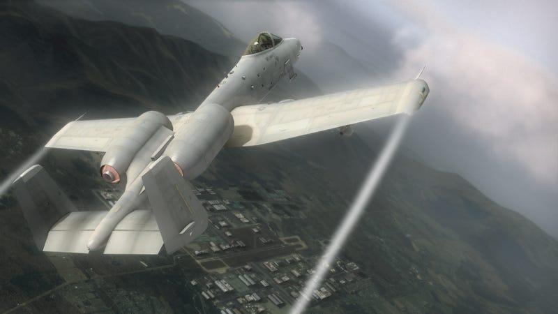 New Tom Clancy's HAWX Screens