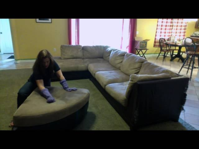 Remove Stains From A Microfiber Couch With Water Or Rubbing Alcohol