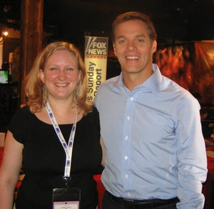 Dork Meets Bill Hemmer, Resists Drooling