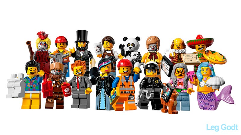 Exclusive: All the cool official minifigs from The Lego Movie