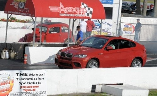 BMW X6 Car And Driver Fake Out
