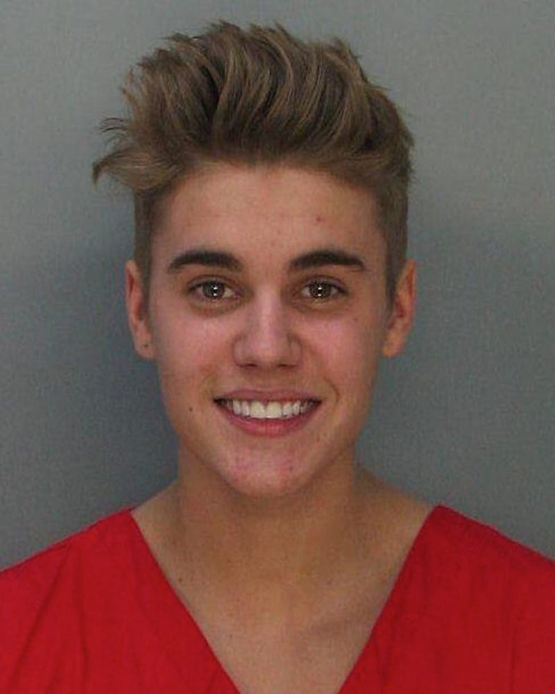 Here Is Justin Bieber's Mugshot And Alleged Arrest Video
