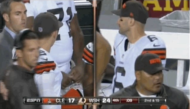 Looks Like Johnny Manziel Just Found Out Everyone Saw Him Flip The Bird