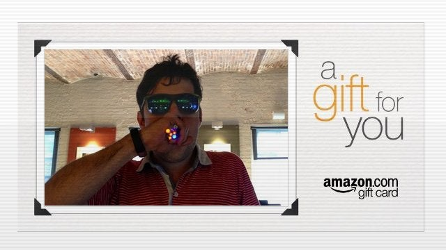Amazon Turns Boring Gift Cards Into Campy Personalized Videos