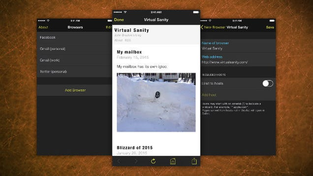 Marcato Creates Site-Specific, Secure Browsers on iPhone