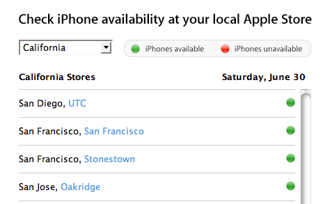 iPhone Availability Update: It's Everywhere?