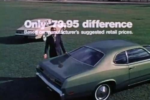 1972 Chevy Vega or Plymouth Duster? Get The Deluxe Wheel Covers and Whitewalls!