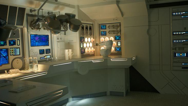 Massive collection of Prometheus stills take you inside Ridley Scott's new spaceship