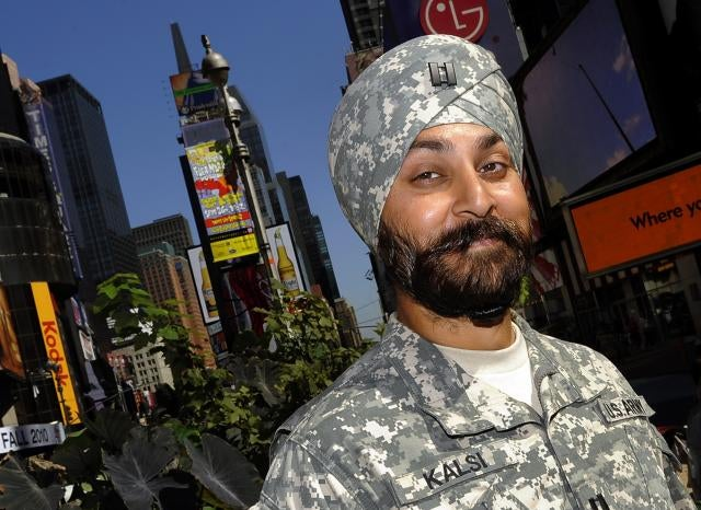 Pentagon Allows Beards For Sikhs and Muslims, Freaks Out Bigots
