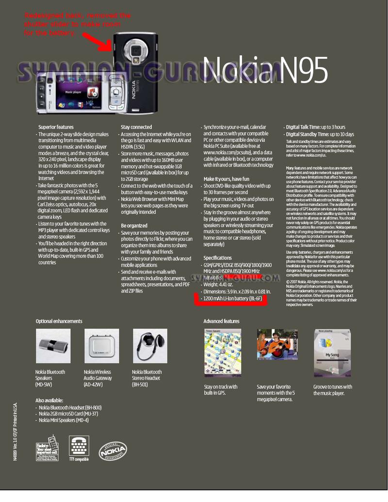 More US 3G N95 Details: Bigger, Badder, Blacker