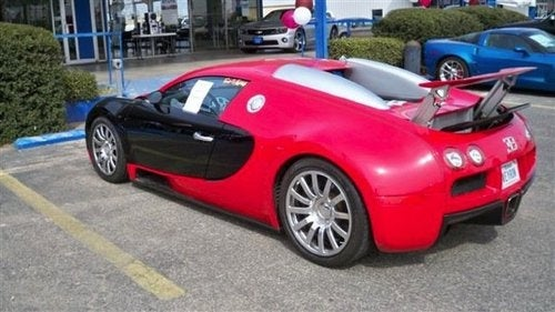 Bugatti Veyron Traded In For Corvette ZR1: Vehicle Photos