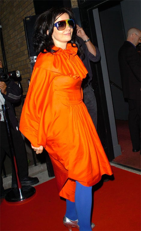 Björk Totally Loves The NY Mets (Or Union 76)