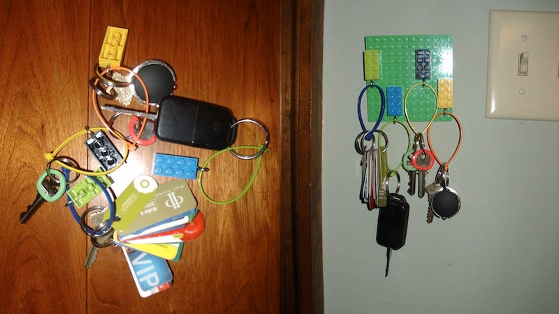 The Most Brilliant Way to Never Lose Your Keys (With Lego!)