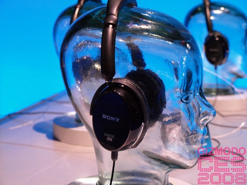 First Grope of Sony MDR-NC500D Digital Noise Canceling Headphones