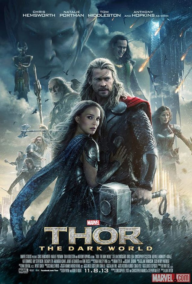 Thor:The Dark World Poster