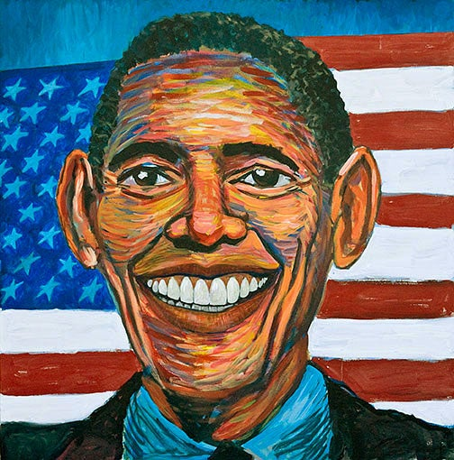 The President's Many Facets Revealed In Amateur Art