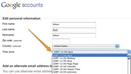 How to Fix Timezone Problems in Gmail