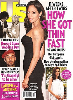 This Week In Tabloids: Angelina Is Thin, Happy & Tummy-Tucked