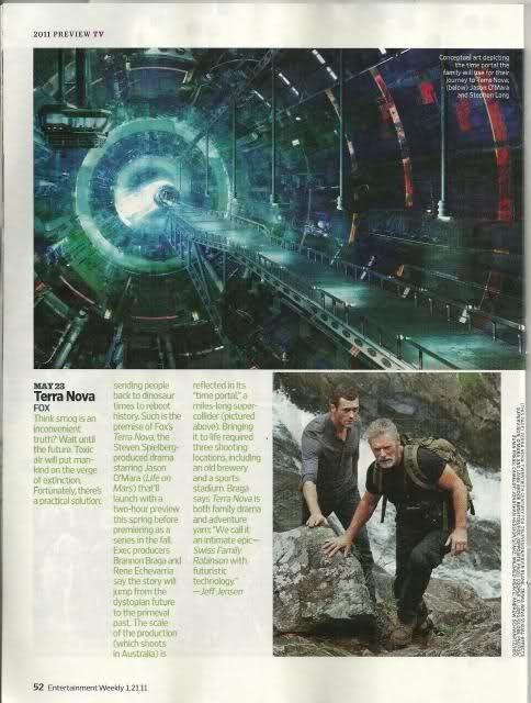 Terra Nova Entertainment Weekly Scan