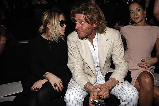 Mary-Kate Olsen & Lapo Elkann. Wait, What?