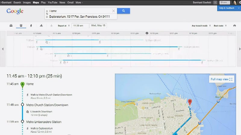 The New Google Maps: Flat, Clean, and Built Just for You