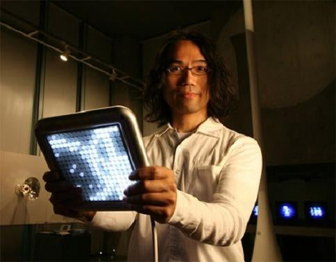 Tenori-On Crazy LED Digital Instrument Set for September Launch