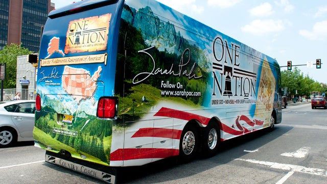 Sarah Palin Resumes Bus Tour, Hopes To Distract Nation From Actual Candidates
