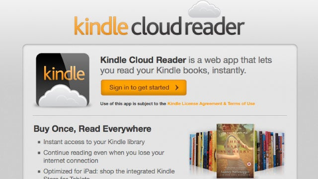 Kindle Cloud Reader Finally Brings Kindle Books to Firefox