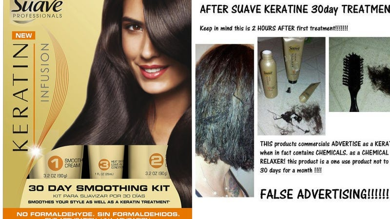Class Action Suit Over Suave Keratin Smoothing Kit Moves Forward
