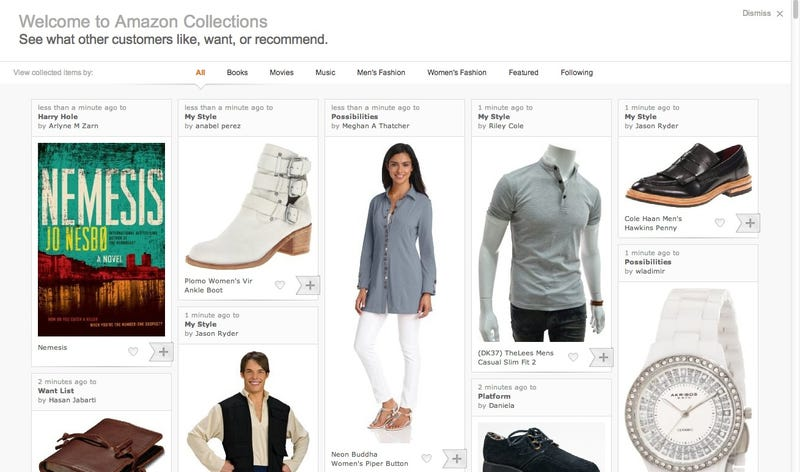 Amazon's New Pinterest Ripoff Just Begs You to Buy Stuff