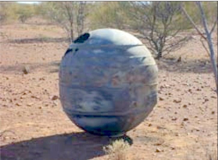Space Junk on an Australian Cattle Station