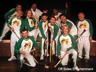 Just Because They're In A Hockey Musical, It Doesn't Mean They Like To Puck Dudes