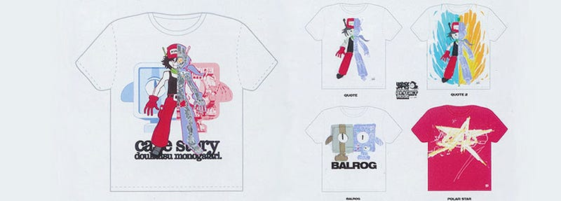 Roll Up, Get Your Cave Story T-Shirts