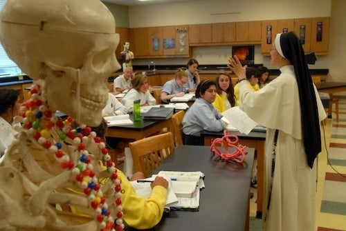 Anatomy Class, As Taught By A Nun