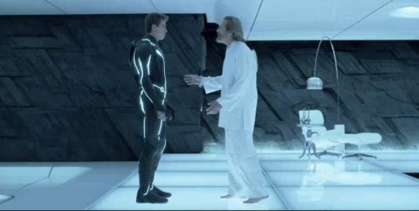 Sam Flynn finds his real dad in new Tron Legacy clip