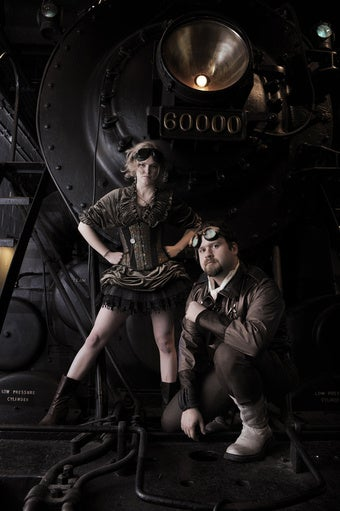 In Which Some Steampunk Novels are Discussed