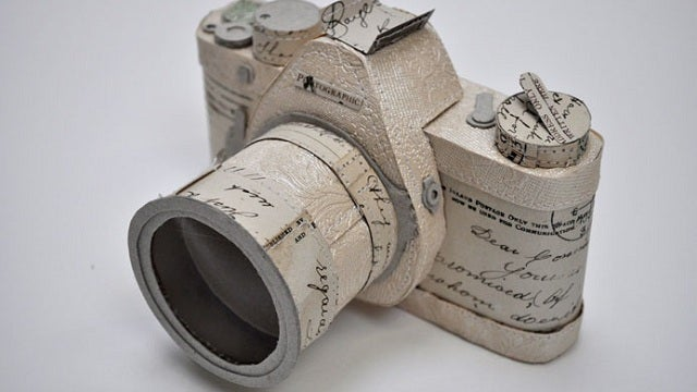 The Analog Gorgeousness of Papercraft Cameras
