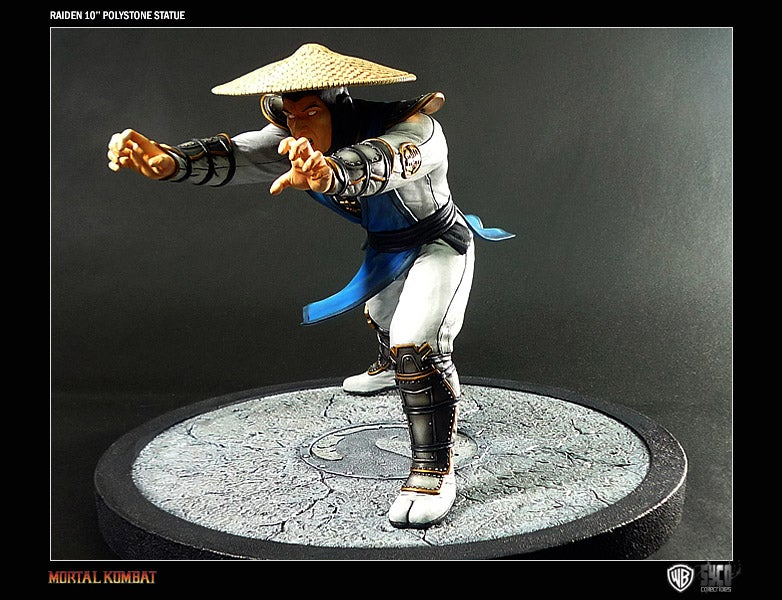 This Raiden Statue Wins. Flawless Victory. Toytality.