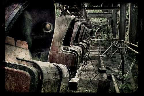 Berlin's Abandoned Spreepark Is Where Fun Goes To Die