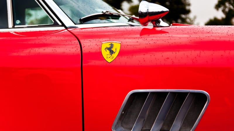 The Ferrari 250 Is Best When Seen Close Up