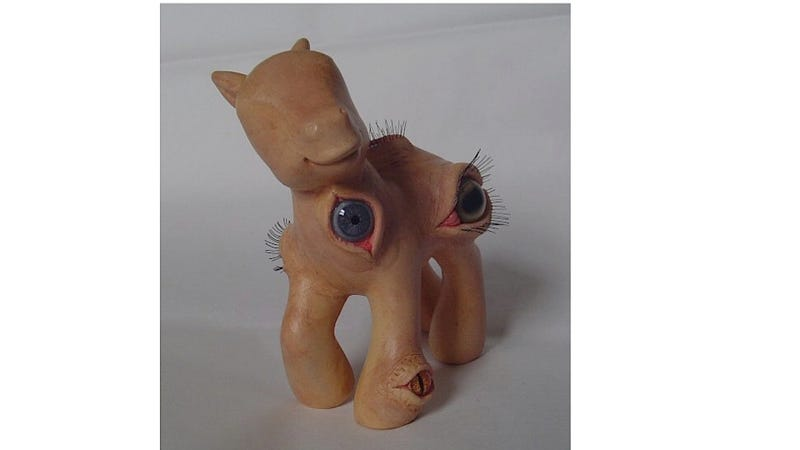 Meet the My Little Pony of Your Nightmares